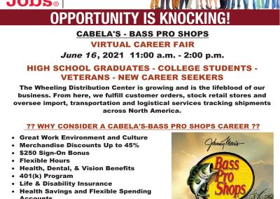 Cabela's Virtual Job Fair