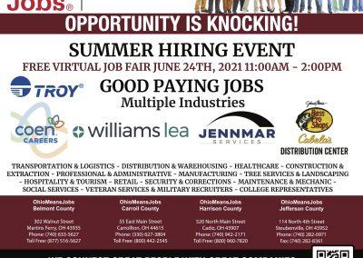 Summer Hiring Event